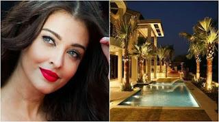 6 Penampakan  Kemewahan Rumah Aktris Bollywood Aishwarya Rai di Tiga Negara