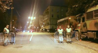 Правоохранители перекрыли центр Киева перед акциями 17 октября