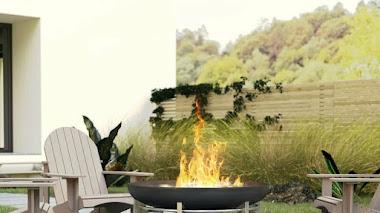 Fogatas para disfrutar del jardín o terraza incluso en invierno