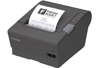 Printer EPSON TM-T88V Paralel Dan USB
