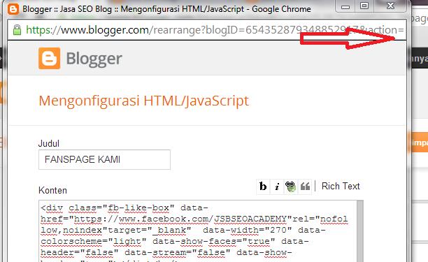 Cara Menghilangkan Widget Dari Halaman Homepage