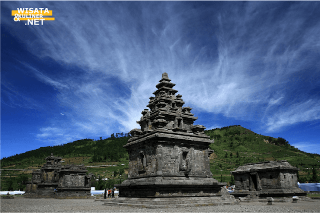 Candi Arjuna - 10 Tempat Wisata di Dieng Paling Terkenal