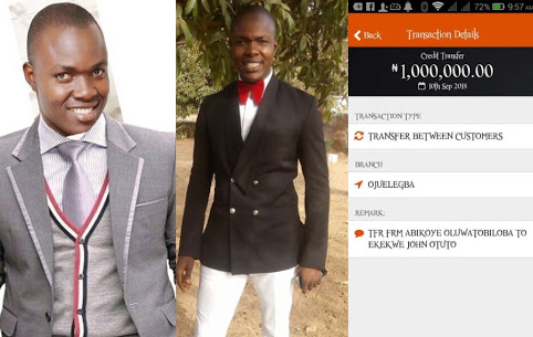 Man Looking For A Lady He Mistakenly Sent N1Million
