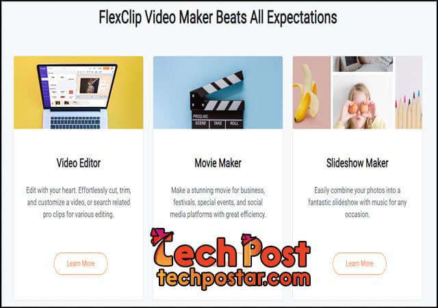 موقع FlexClip