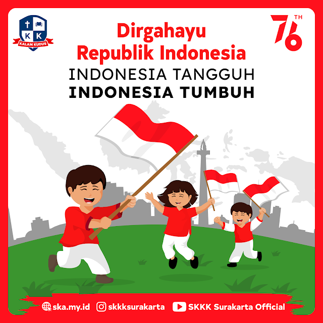 Dirgahayu Republik Indonesia 2021, 17 Agustus 2021