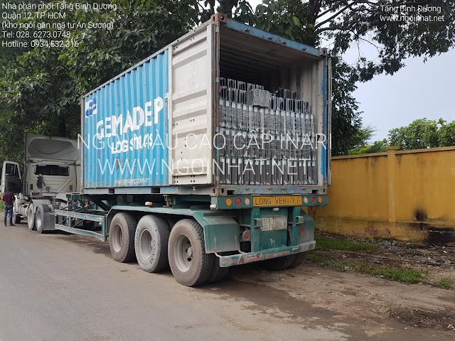 Container ngói màu Inari F05