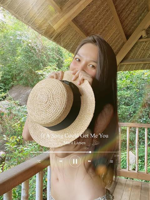 Ảnh người đẹp Việt Nam: Ca sĩ Hiền Thụ mặc bikini 3