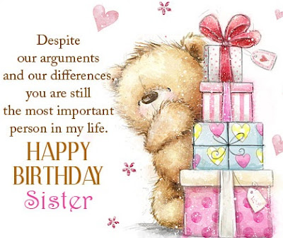 Happy Birthday Wishes For Sister Birthday Messages For
