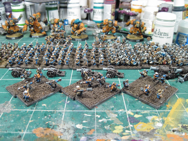 Warmaster Dwarven Artillery