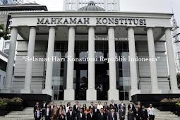 Kumpulan Ucapan Selamat Hari Konstitusi Republik Indonesia terbaik