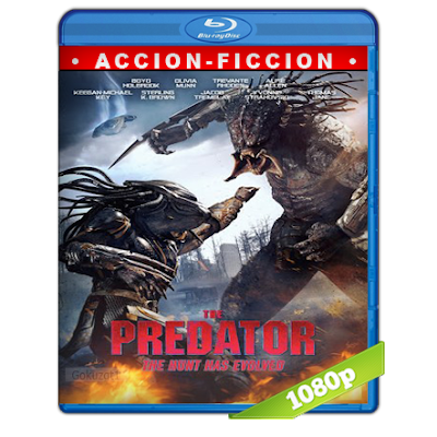 El Depredador (2018) BRRip Full 1080p Audio Trial Latino-Castellano-Ingles 5.1