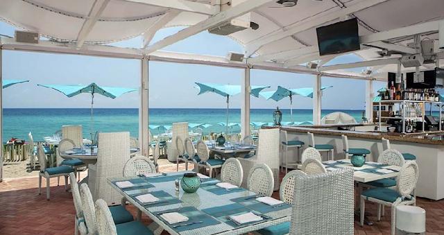 Bar e Restaurante Bella Beach Club em Miami