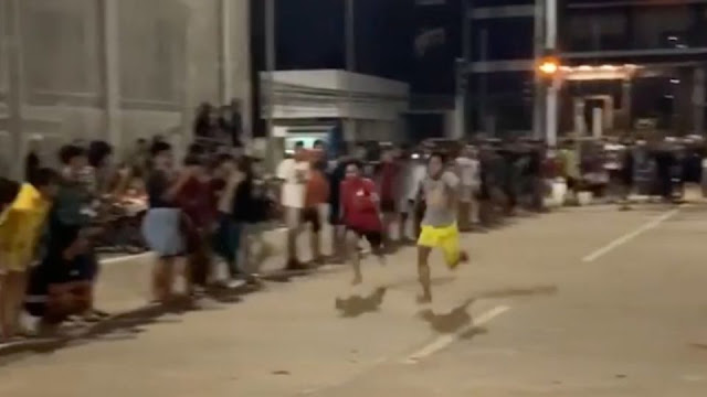 Road Runners: Nighttime barefoot racing latest pandemic trend to take off in Indonesia