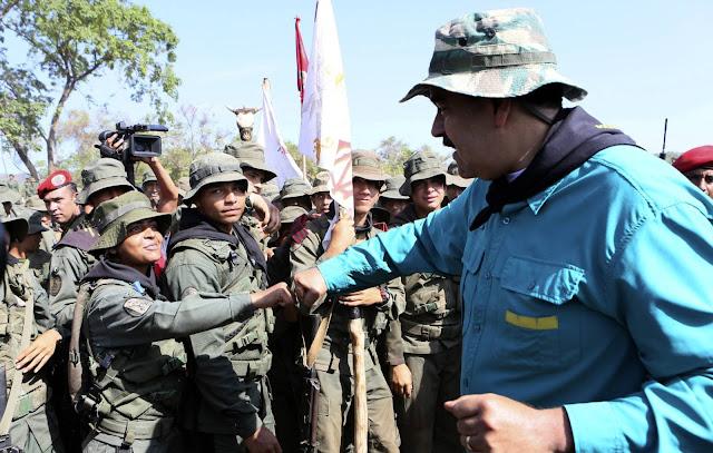 Unas Fuerzas Armadas para servir al chavismo
