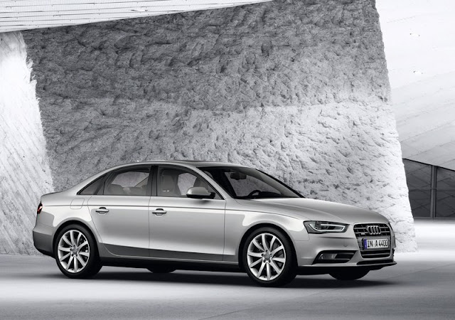 2015 Audi A4 Front Angel