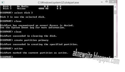 USB Bootable WIndows Installan