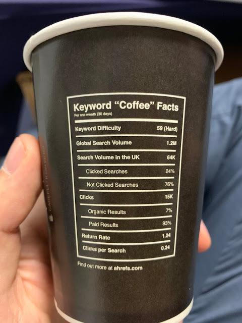 Ahrefs Coffee Cup