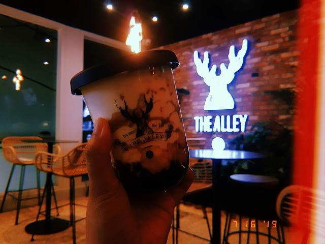 Brown Sugar Creme Brulee Deerioca Milk, The Alley Korea