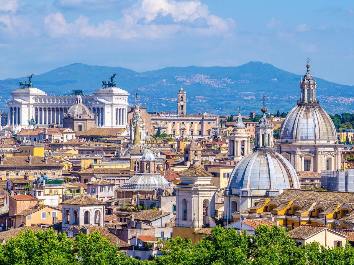 Холм Джаниколо (Пасседжата дель Джаниколо) в Риме