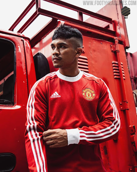 Adidas Manchester United 20 21 Icon Kit Jacket Released Footy Headlines