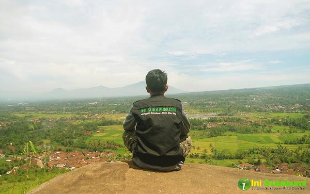 Manjakan Mata di Gunung Sunda Sukabumi