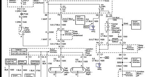 Wiring Diagram Blog: Chevrolet Colorado Fog Light Wiring
