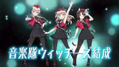 Anime: El proyecto Idol Luminous Witches estará producido por SHAFT