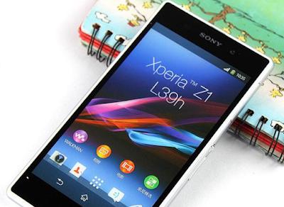 Thay màn hình Sony Xperia z1 chinh hang