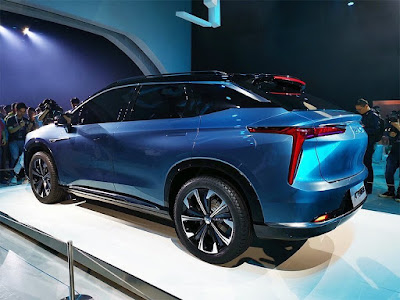 New Electric SUV by Hycan , end of 2019~ joint venture between Nio and Gac China !⁣