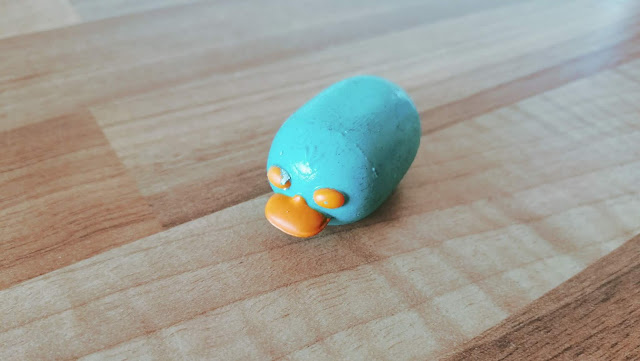 Damaged Perry the platypus tsum tsum