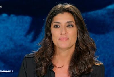 Elisa Isoardi foto bella cartabianca 21 settembre