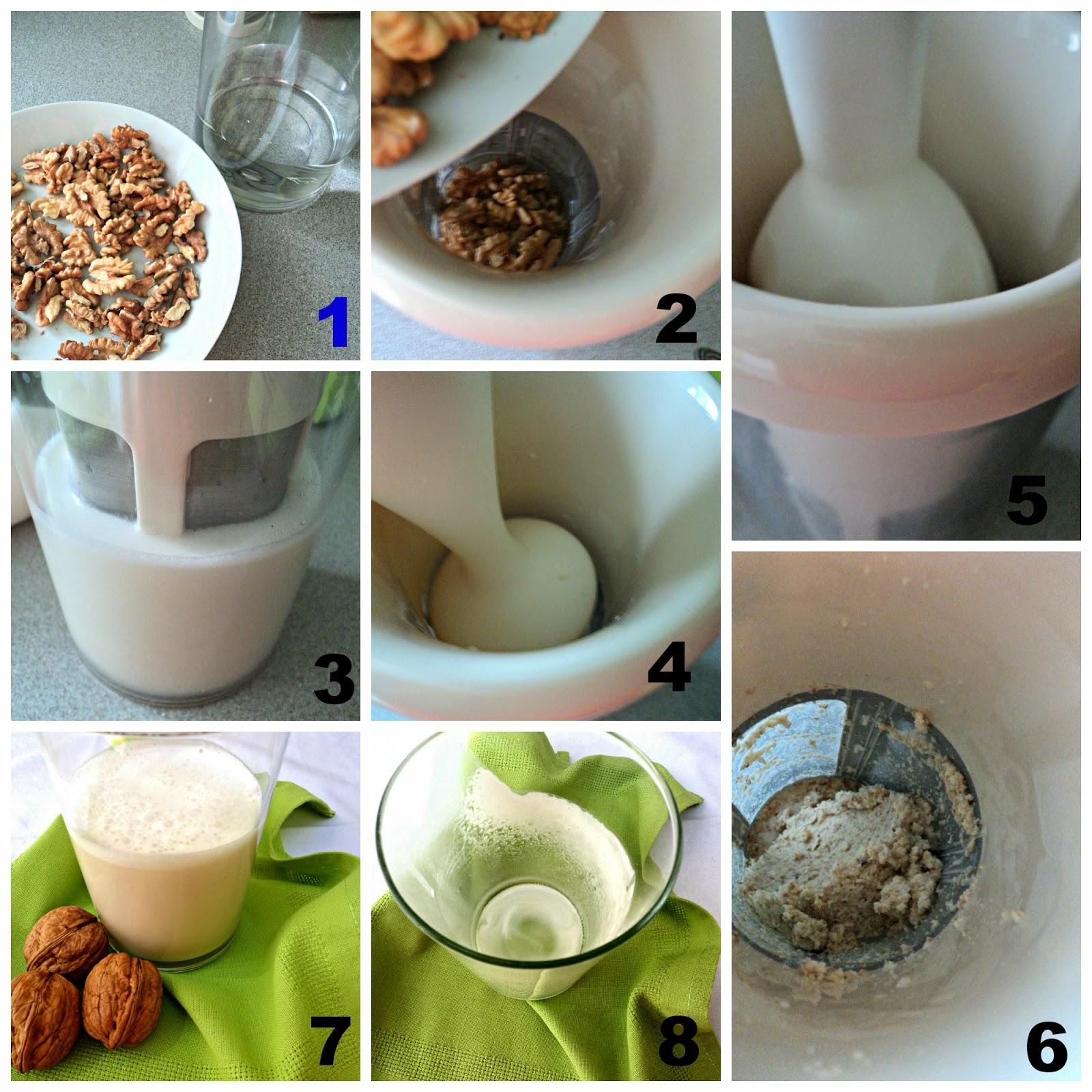 leche-nueces-speculoos-preparacion