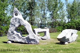 Sculpture Islas de Agua