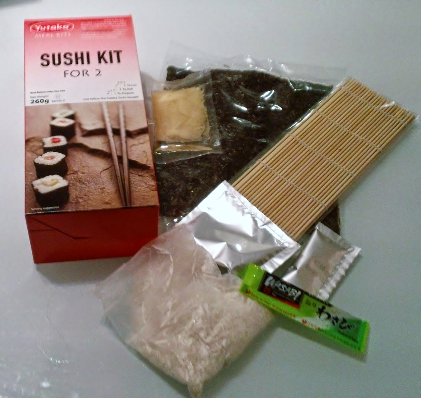 Yutaka Sushi Kit, Sushi Kit, Sushi at Home, Japanese Food