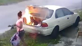 ΓΕΛΑΝΕ ΚΑΙ ΟΙ ΠΕΤΡΕΣ! Ήθελε να εκδικηθεί τον πρώην αλλά... έκαψε λάθος αυτοκίνητο!