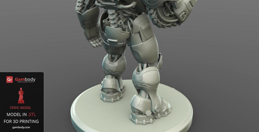 3D design Terran Marine