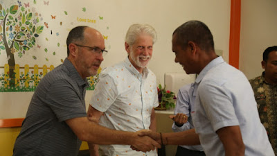 Kunjungi Labuhanbatu NGO Asal Amerika Siap Bermitra