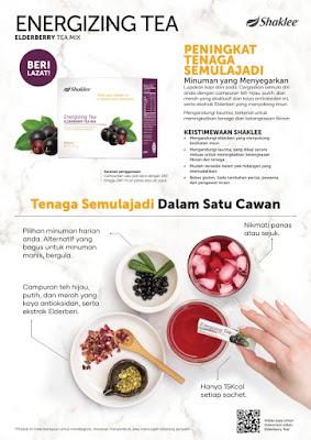 Energizing Tea Elderberry