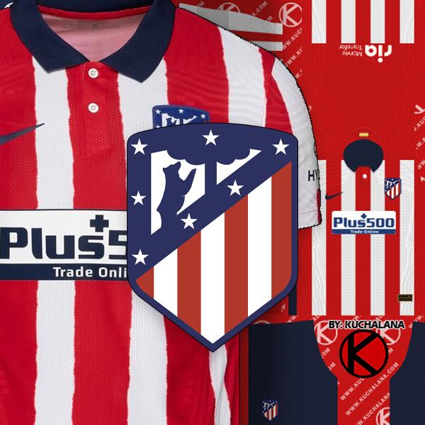 Atlético Madrid 2020-21 jersey