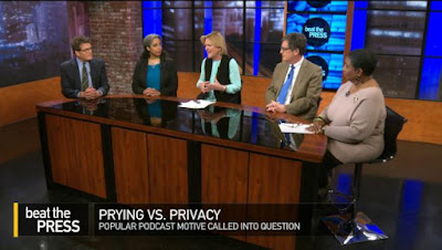"On WGBH: Prying vs. privacy on ""Beat the Press"""