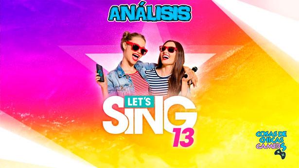 Análisis de Let's Sing 13 para PS4