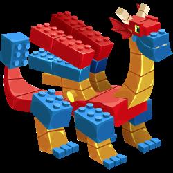 Dragón Bloque