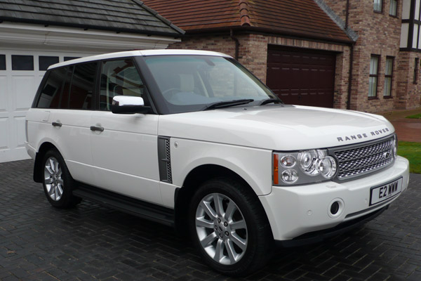 White Range Rover Myautoshowroom