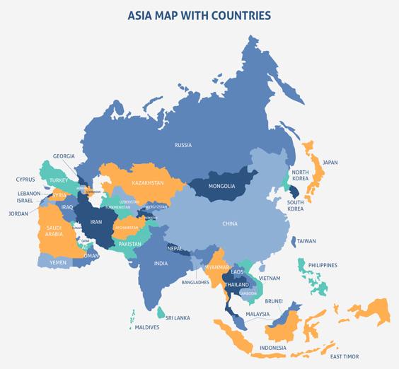 """Benua Asia : Batas Wilayahnya Dan Pembagian Wilayahnya Apa Itu Benua ? Benua adalah dataran luas yang berada di permukaan bumi. Luas daratan benua lebih besar dari pulau. Bumi ini secara umum memiliki 5 Benua yang diantaranya : Benua Asia Benua Australia Benua Amerika Benua Afrika Benua Eropa Namun kali ini artikel ini akan membahas mengenai Benua Asia, untuk bisa mengetahui dengan lebih lanjut silahkan disimak dengan sabagai berikut ini.  Batas Wilayahnya Batas-batas wilayah pada Benua Asia adalah sebagai berikut : Sebelah Utara : Samudra Artik dan Selat Bering Sebelah Timur : Samudra Pasifik Sebelah Selatan : Samudra Hindia Sebelah Barat : Laut Merah, Laut Tengah, dan Pegunungan Ural  Pembagian Wilayahnya Pembagian wilayah di Benua Asia menjadi 5 yang diantarany adalah sebagai berikut : Asia Barat Asia Barat juga disebut kawasan Timur Tengah. Negara yang masuk kewasan Asia Barat adalah Arab Saudi, Palestina, Israel,Yordania, Lebanon, Syria, Irak, Iran, Kuwait, dan beberapa negara kecil disekitarnya. Asia Timur Asia Timur juga disebut kawasan Timur jauh. Negara yang masuk kawasan Asia Timur adalah Jepang, Hongkong, Korea Utara, Korea Selatan, China, Hongkong, Mongolia, dan Taiwan. Asia Tengah Negara yang masuk kawasan ini di antaranya Uzbekistan, Kazakhstan, Tajikhistan, Turkmenistan, dan beberapa negara pecahan UniSovyet lainnya. Asia Selatan Negara yang berada di dalamnya antara lain India, Pakistan, Afganistan, Srilanka, Bangladesh, Bhutan, dan Nepal. Asia Tenggara Di kawasan ini terdapat bebera[a Negara seperti Indonesia, Malaysia, Singapura, Thailand, Filipina, Myanmar, Vietnam, Laos, dan Brunei Darussalam.  Nah itu dia bahasan dari Benua Asia beserta batas wilayahnya dan pembagian wilayahnya. Melalui bahasa di atas bisa diketahui mengenai batas dan pembagian wilayah dari Benua Asia. Mungkin hanya itu yang bisa disampaikan di dalam artikel ini, mohon maaf bila terjadi kesalahan di dalam penulisan, dan terimakasih telah membaca artikel ini.""""God Bless and Protec"""