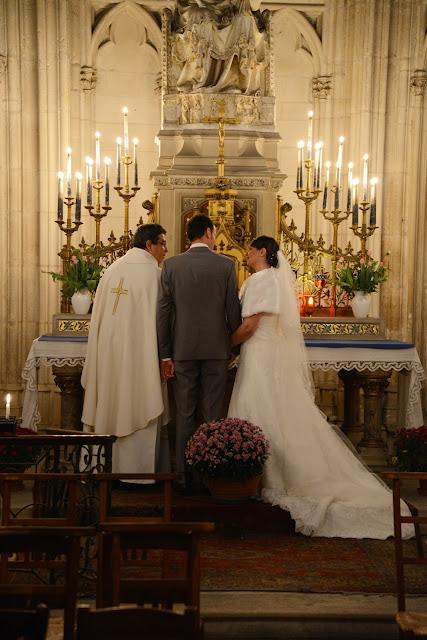 Mariage Olivia et Pierre-Louis cathédrale de Sens Yonne