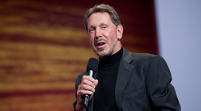 Larry Ellison chairman and co-founder of Oracle