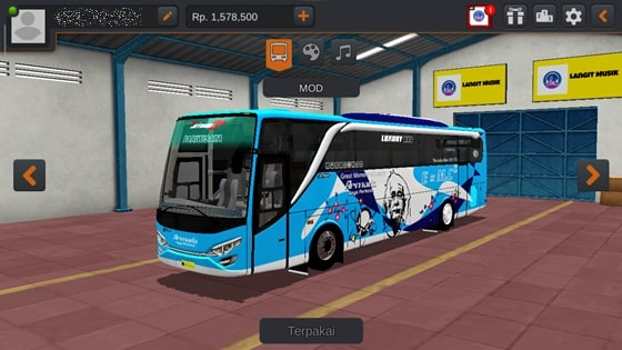 Livery JBHD2 New Setra MD Creation Armada Jaya Perkasa