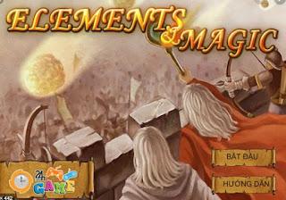 Chơi game lâu đài phép thuật