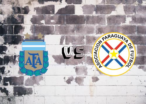 Argentina vs Paraguay  Resumen y Partido Completo