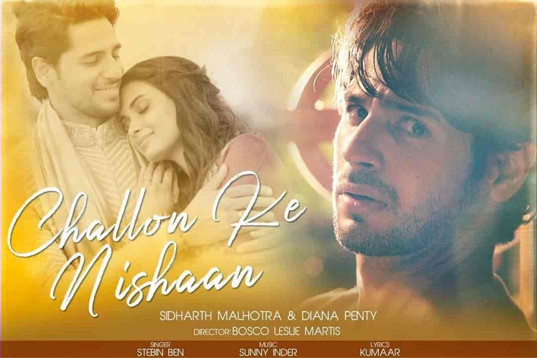 Challon Ke Nishaan Hindi Song Image Features Stebin Ben